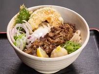 熟成神戸牛炙り肉ぶっかけうどん
