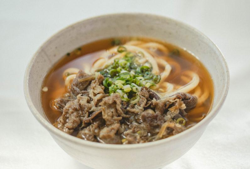 神戸牛・但馬牛肉うどんセット(5人前)
